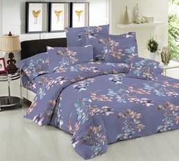 Комплект постельного белья Алисса (Комплект постельного белья ранфорс Blue Cloud) фото 2