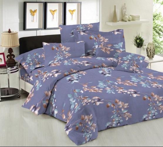 Комплект постельного белья Алисса (Комплект постельного белья ранфорс Blue Cloud) фото 1
