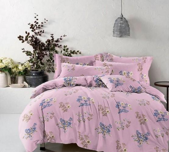 Комплект постельного белья Завиток шоколад (Комплект постельного белья Ксения) фото 1