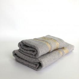 Полотенце махровое люрекс ( 100% хлопок)