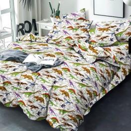 Комплект постельного белья Динозавр