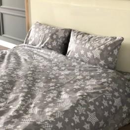 Комплект постельного белья бязь голд звёзды