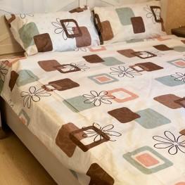 Комплект постельного белья цветок