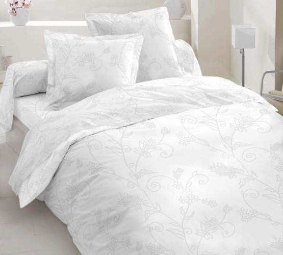 ткань сатин № 20-0653 WHITE ON WHITЕ (ткань сатин №20-0653 WHITE ON WHITЕ) фото 1