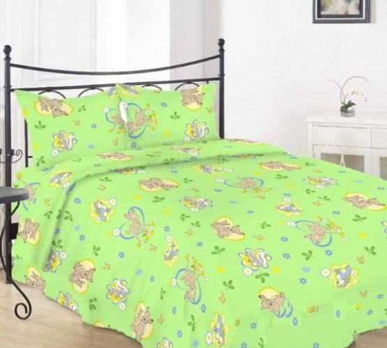 Комплект в кроватку (бемби грин) фото 1