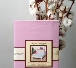 Простынь на резинке розовая (Простынь на резинке розовая) фото 3