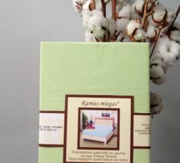Простынь на резинке салатовая (Простынь на резинке салатовая) фото 2