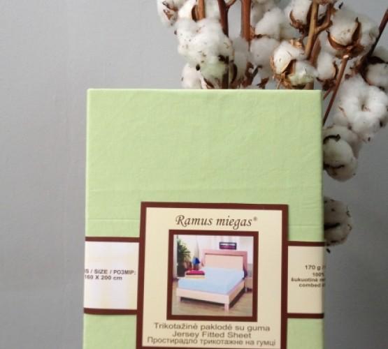 Простынь на резинке салатовая (Простынь на резинке салатовая) фото 1