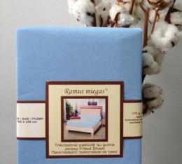 Простынь на резинке голубая (Простынь на резинке голубая) фото 2