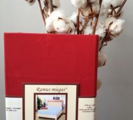 Простынь на резинке красная (Простынь на резинке красная) фото 3