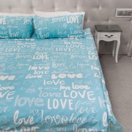 Комплект постельного белья Love, бязь Голд