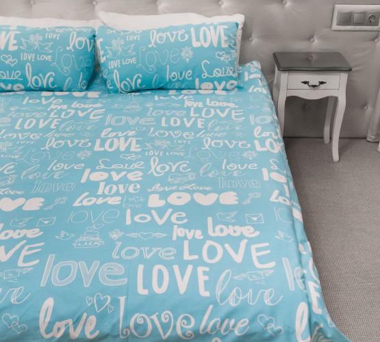 Комплект постельного белья Love, бязь Голд () фото 1
