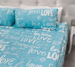 Комплект постельного белья Love, бязь Голд () фото 4