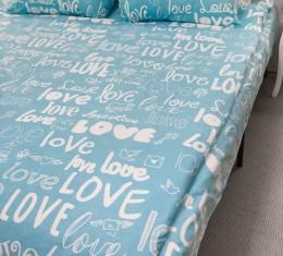 Комплект постельного белья Love, бязь Голд () фото 5