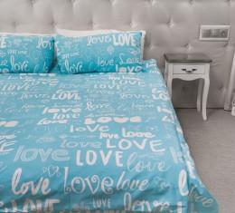 Комплект постельного белья Love, бязь Голд () фото 2
