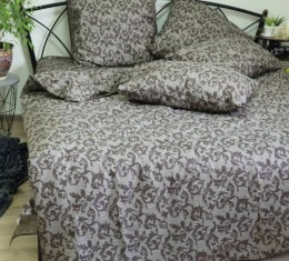 Комплект постельного белья Завиток шоколад (Комплект постельного белья Завиток шоколад) фото 2