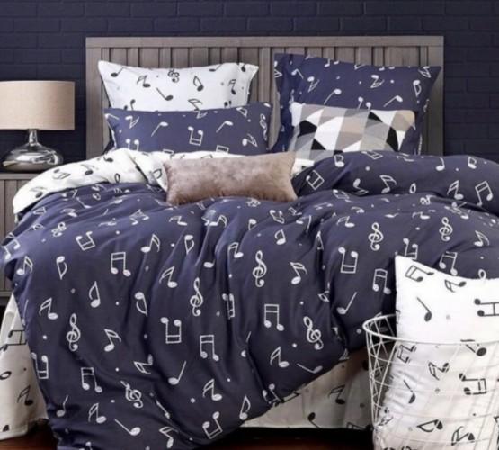 Комплект постельного белья с узором (2020 - 11) фото 1