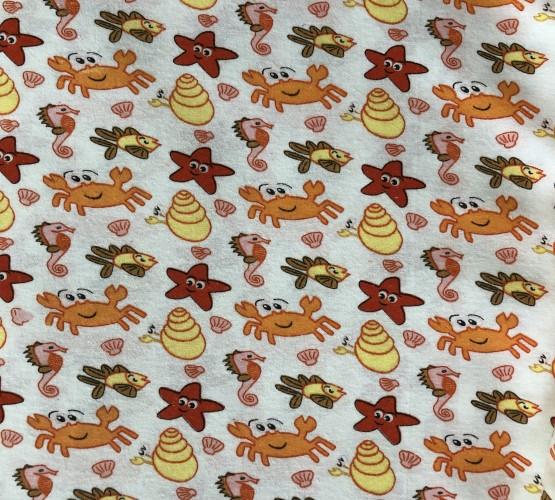 Ткань фланель red stars (Ткань фланель red stars) фото 1