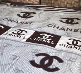 Комплект постельного белья бязь голд Chanel brown (Комплект постельного белья бязь голд Chanel brown) фото 2