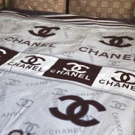 Комплект постельного белья бязь голд Chanel brown