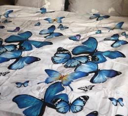 Ткань бязь голд бабочка 1 (бабочка 1) фото 2