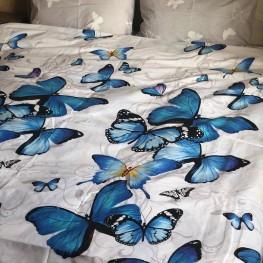 Ткань бязь голд бабочка 1
