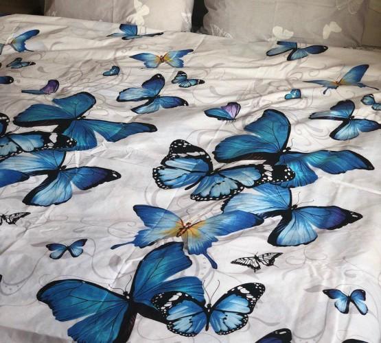 Ткань бязь голд бабочка 1 (бабочка 1) фото 1