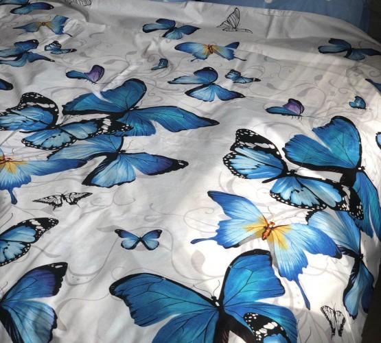 Комплект постельного белья бязь голд бабочка 2 (бабочка 2) фото 1