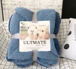Плед овечка blue (Плед овечка blue) фото 3
