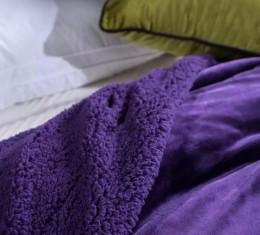 Плед овечка purple (Плед овечка purple) фото 2