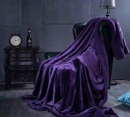 Плед овечка purple (Плед овечка purple) фото 3