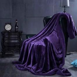 Плед овечка purple