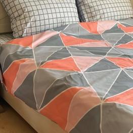 Комплект постельного белья бязь голд геометрия