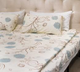 Комплект постельного белья c цветочным узором, сатин (68096565) фото 6