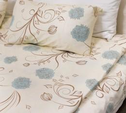 Комплект постельного белья c цветочным узором, сатин (68096565) фото 4