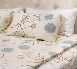 Комплект постельного белья c цветочным узором, сатин (68096565) фото 5