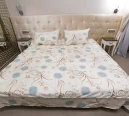 Комплект постельного белья c цветочным узором, сатин (68096565) фото 3