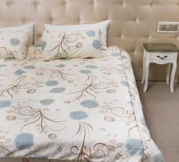 Комплект постельного белья c цветочным узором, сатин (68096565) фото 7