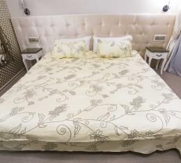 Комплект постельного белья цветочный, сатин (68096565) фото 2