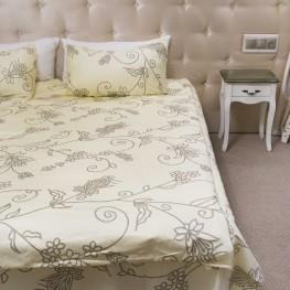 Комплект постельного белья цветочный, сатин