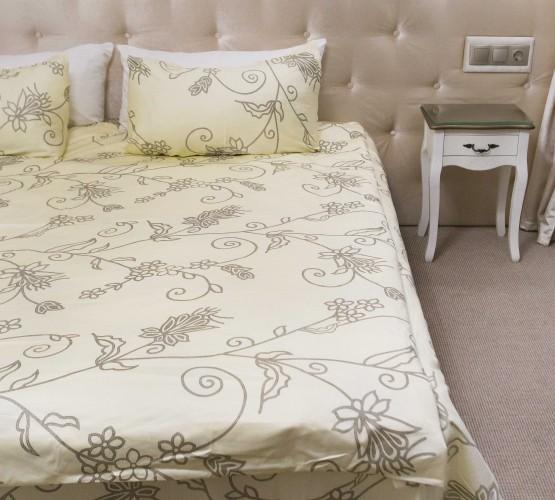 Комплект постельного белья цветочный, сатин (68096565) фото 1
