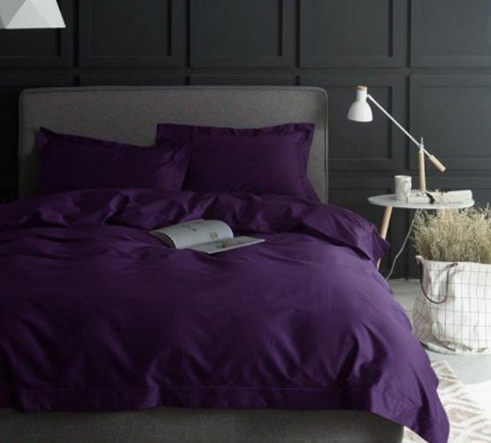 Комплект постельного белья сатин PURPLE (PURPLE) фото 1