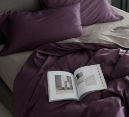 Комплект постельного белья сатин PURPLE (PURPLE) фото 2