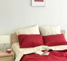Комплект постельного белья сатин, vanilla cherry  (vanilla chery) фото 2