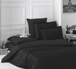 Комплект постельного белья Black satin (Black satin) фото 2