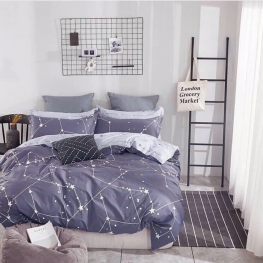 Комплект постельного белья со звездочками