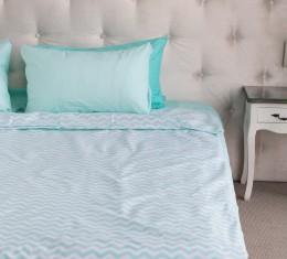 """Комплект постельного белья  """"Голубой"""", хлопок  (68096565) фото 3"""