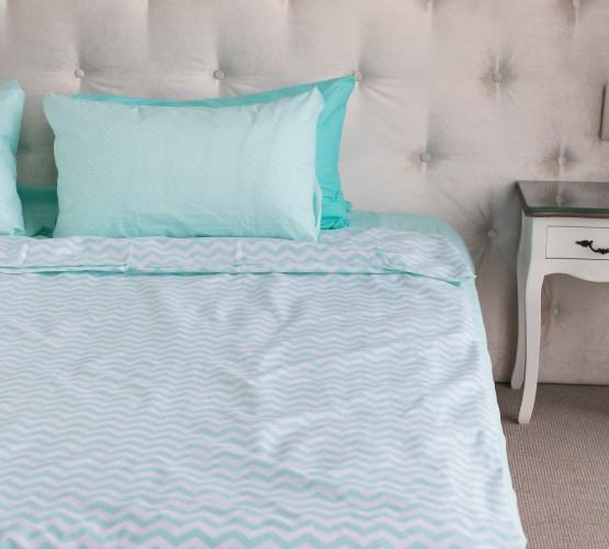 """Комплект постельного белья  """"Голубой"""", хлопок  (68096565) фото 1"""