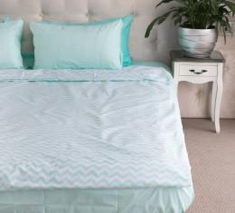 """Комплект постельного белья  """"Голубой"""", хлопок  (68096565) фото 4"""