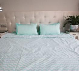 """Комплект постельного белья  """"Голубой"""", хлопок  (68096565) фото 2"""